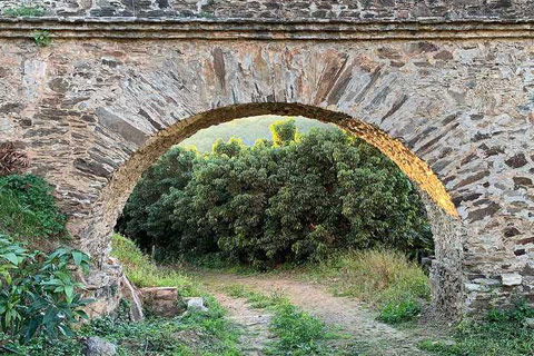 Monuments - Aqueducts, Almunecar - Spain